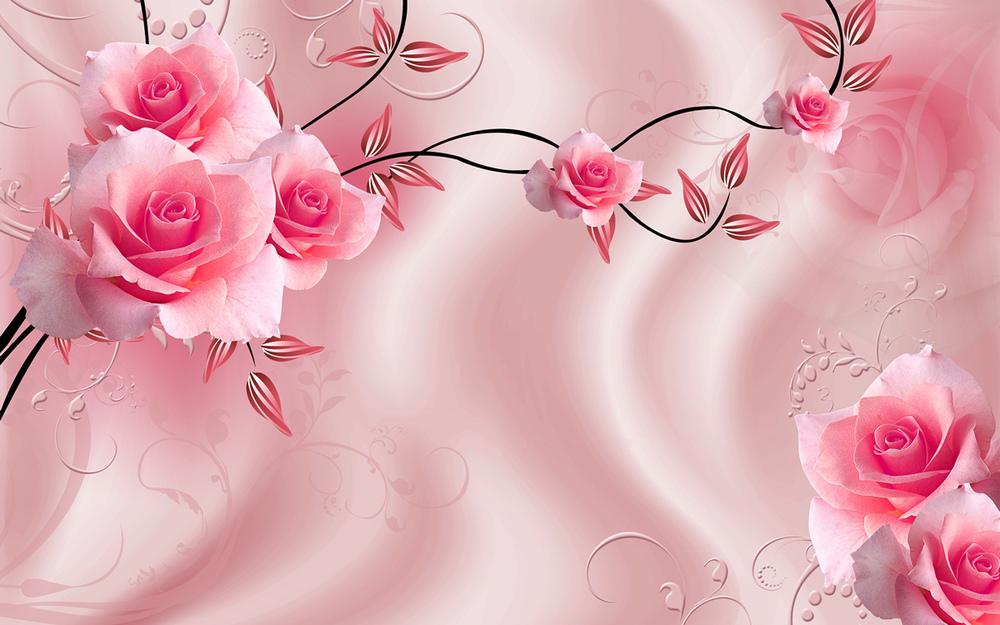 Большие обои для обоев Colomac Розовый