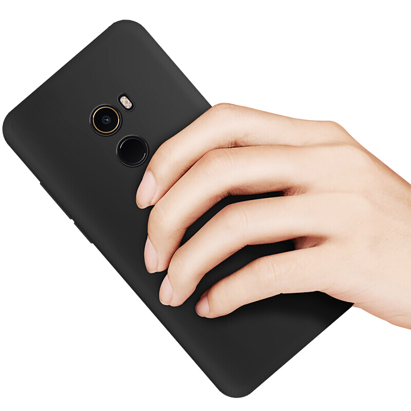 JD Коллекция Матовый черный мягкой оболочки Просо Mix2 кола 360 f5 телефон оболочки тпу прозрачный силиконовый чехол мягкой оболочки для мобильных f5 360