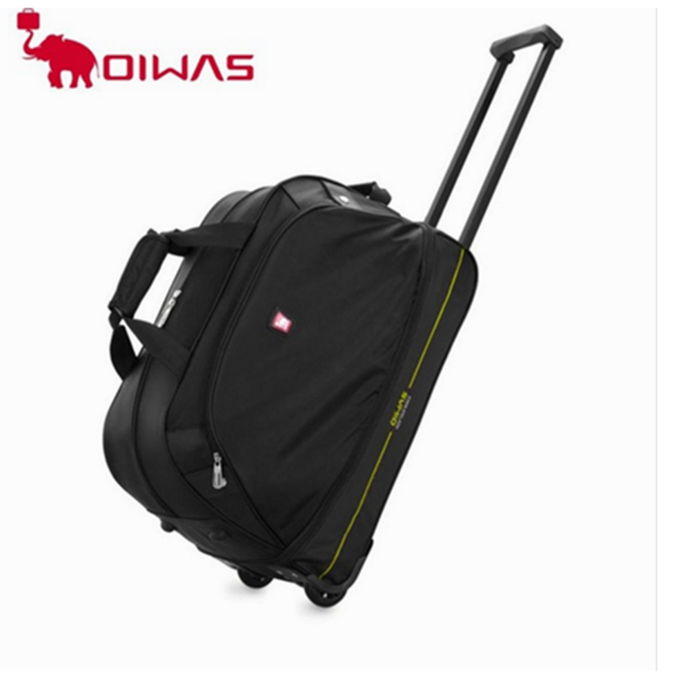 OIWAS Черный baibu high quality waterproof travel trolley backpack luggage bags wheeled carry ons bags large capacity trolley bags for laptop
