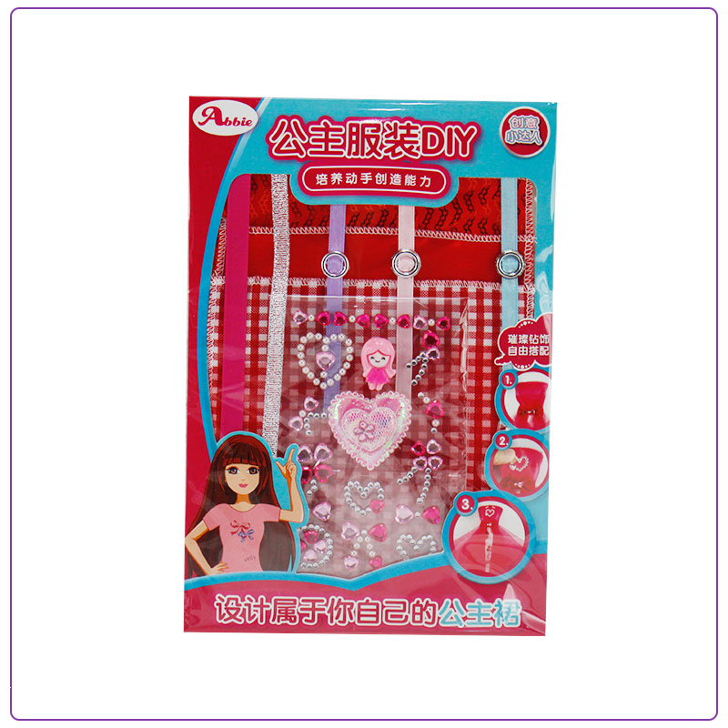 Abbie Material for DIY Doll-D No Doll кубики abtoys 29 дет pt 00477