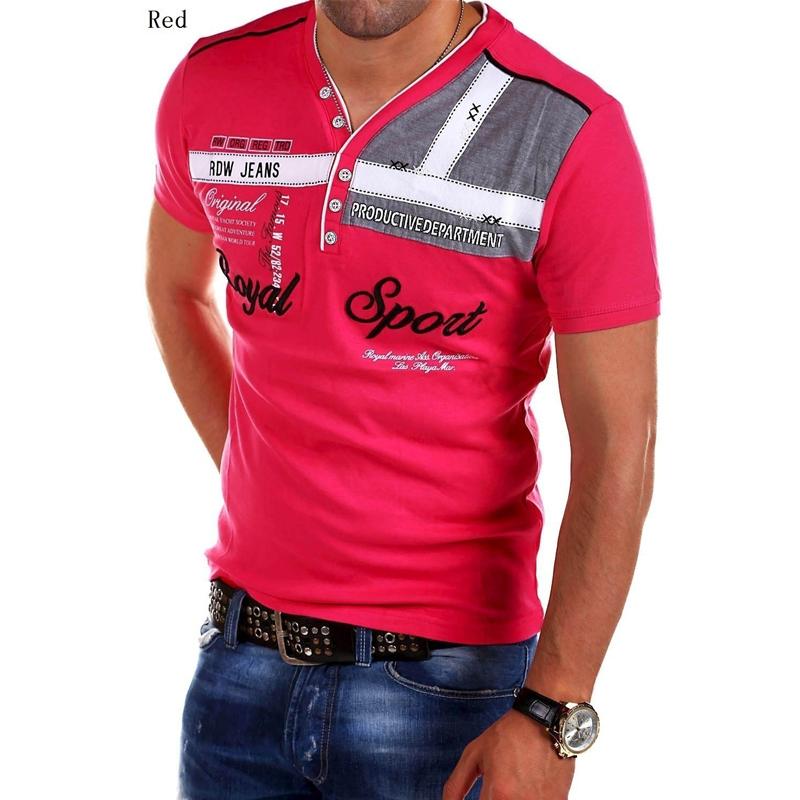 ZOGAA с коротким рукавом красного Номер S u s polo assn men s short sleeve pique polo shirt with multi color pony logo