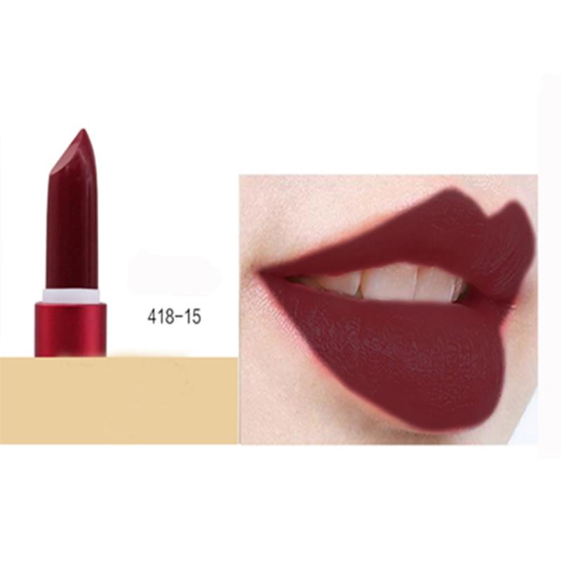 Макияж помада макияж матовая помада мисс роза корейская косметика SINCEMILE 418-15 фото