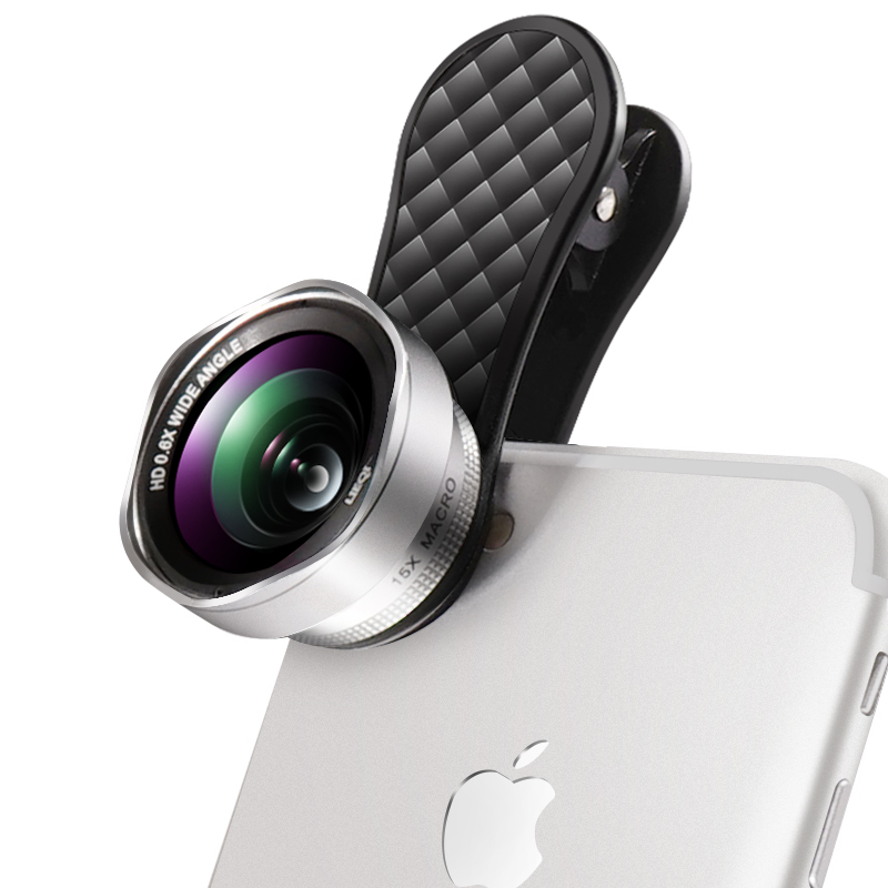 LIEQI Основы Combo Серебряный лепесток дефолт universal wide angle 0 67x macro lens attachment for cell phones black silver white
