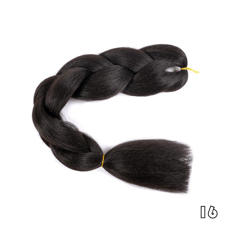 ALI LADY 16 24 дюймов bulk hair for braiding 100