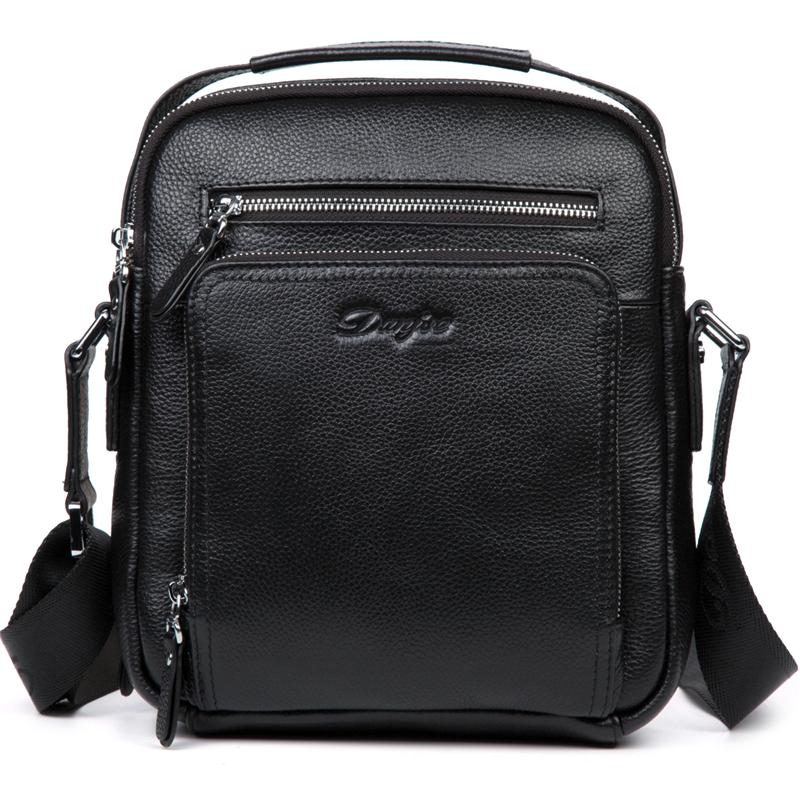 Мужской сумка мужская сумка сумка сумка мужчина повседневная сумка мужская DANJUE Черный 25cm x 21cm x 7cm фото