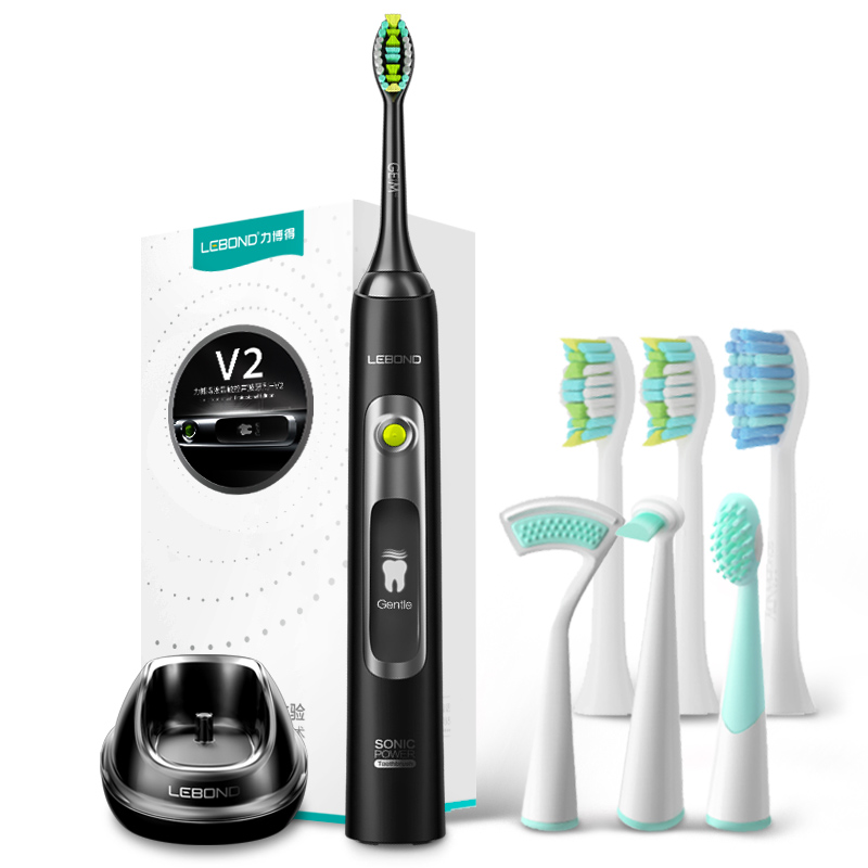 JD Коллекция lebond sonic electric toothbrush heads handy series 4 pcs for all lebond adult toothbrushes