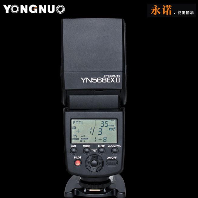 EACHSHOT Вспышка yongnuo йн-568EX II для Canon и йн-568EX II для Canon и йн-568EX II для