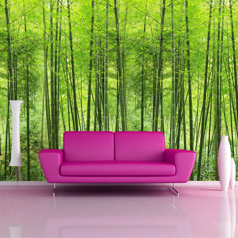 Colomac Смешанный цвет beibehang retro restaurant bamboo forest green fresh bamboo wallpaper living room tv background cafe decorative 3d wallpaper