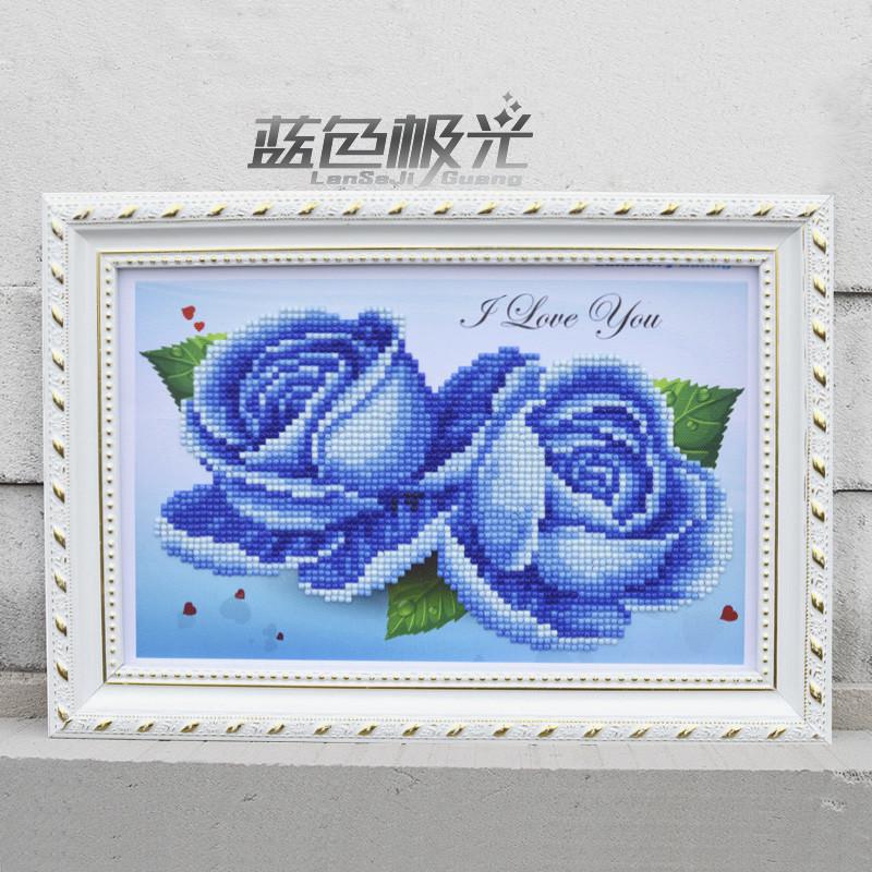 Алмазная живописьДиамонд Живопись HelloYoung Blue фото