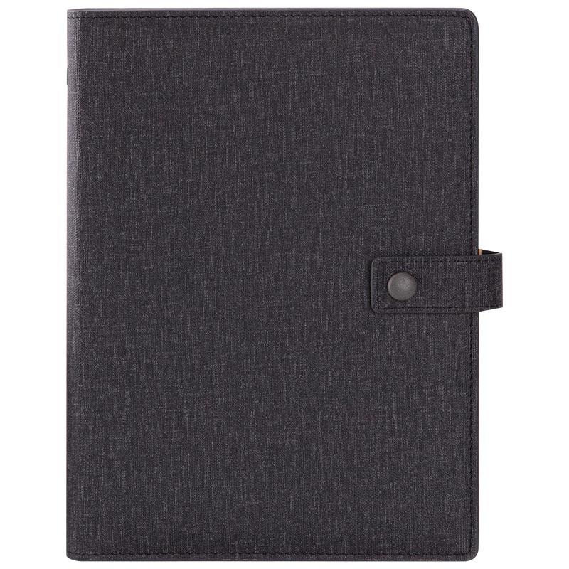 JD Коллекция черный дефолт обширный guangbo 16k96 чжан бизнес кожаного ноутбук ноутбук канцелярского ноутбук атмосферная магнитные дебетовый черный gbp16734