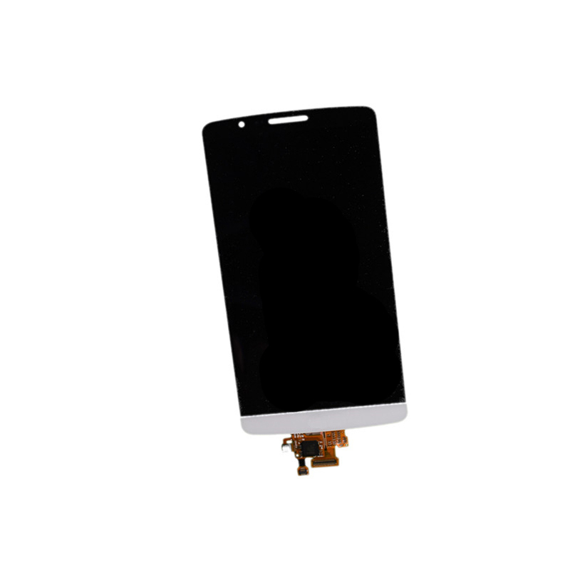 jskei белый for lg g3 d850 d851 d855 lcd display with touch screen digitizer with frame assembly replacement high quality with tools as gift