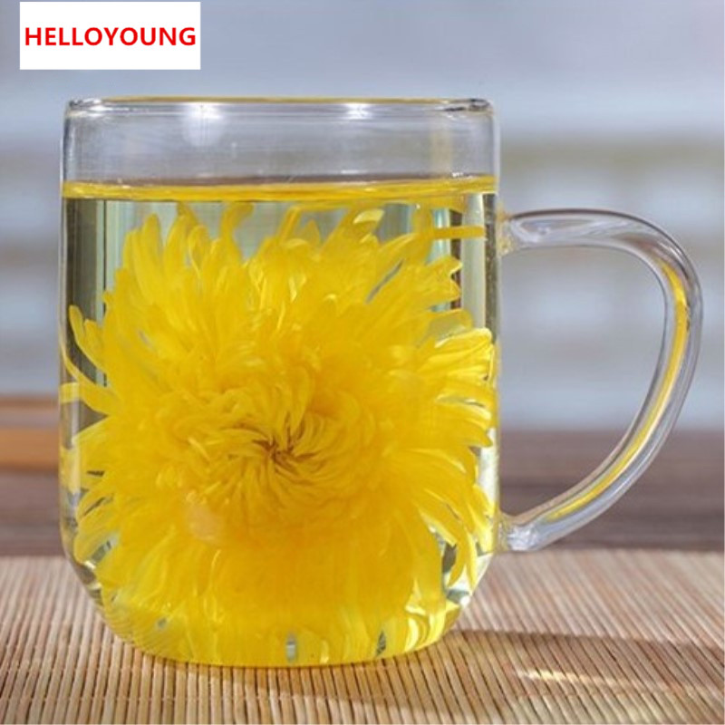 HelloYoung C-TS033 лучшее золото Хуан Ju 4 штуки хризантемы большой кубок органической ее