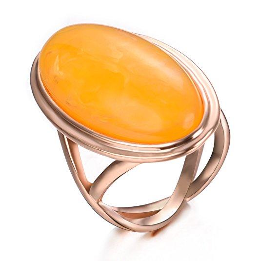 yoursfs Yellow 7 кольца
