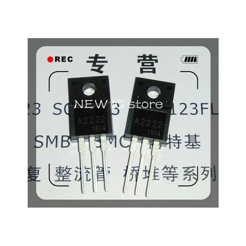 IC free shipping new original 2sa2222 2sc6144 10pcs a2222 10pcs c6144