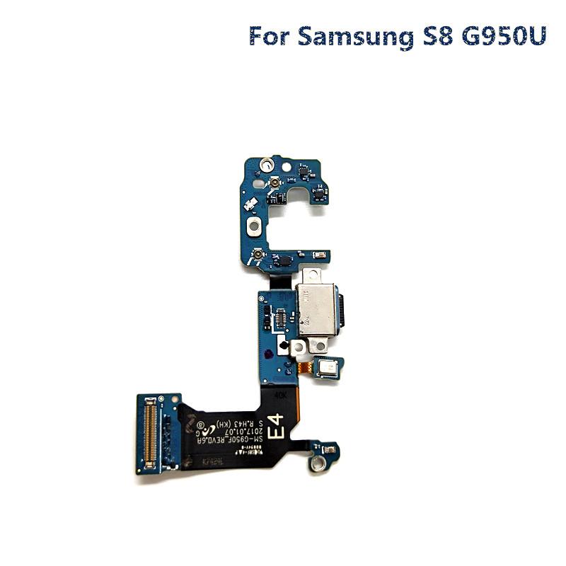 jskei Для Samsung S8 G950U usb зарядное устройство док станция для зарядки порт flex кабель для samsung galaxy tab 4 sm t530nu