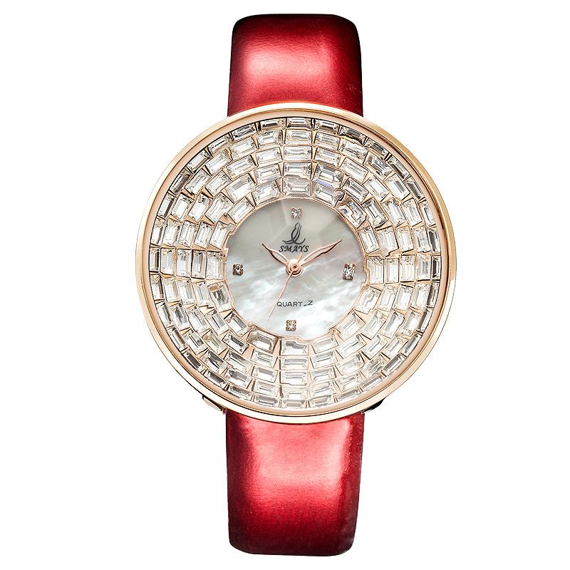 SMAYS розового золота женские часы sekonda a381 1w