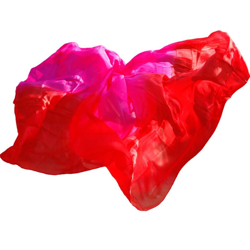 YI NA SHENG WU L шелковая вуаль для танец живота аутентичные шелковые вуали аксессуары для танцев живота королевский синий роза желтый красный