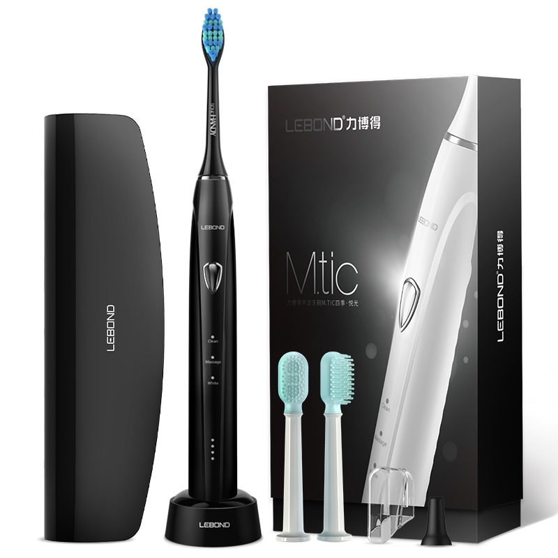 JD Коллекция Черный lebond sonic electric toothbrush heads handy series 4 pcs for all lebond adult toothbrushes