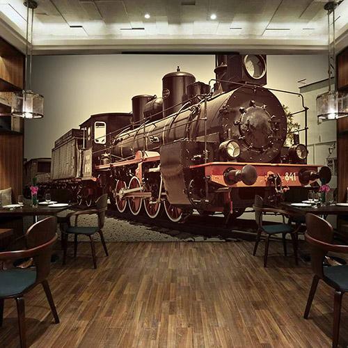 Colomac Розовый современный нью йорк ночью просмотр фото mural обои гостиная ktv бар кафе ресторан фон обои облицовка papel murals 3d