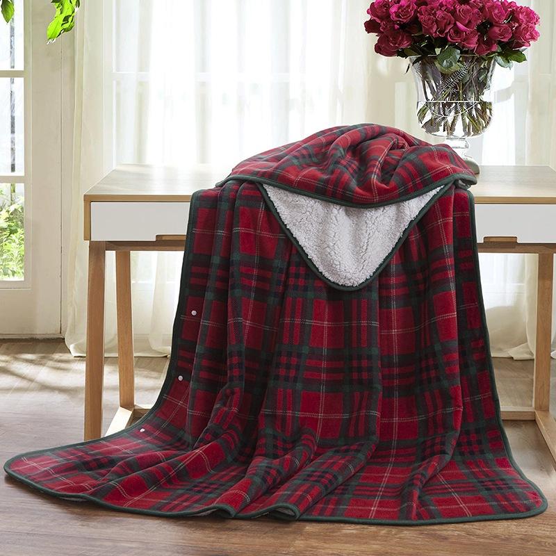 JD Коллекция Руна одеяло - красный 150 200см все цены