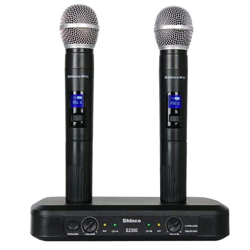 JD Коллекция черный shinco u80a профессиональный u section переменный частотный беспроводной микрофон один на два ktv project conference hosted microphone