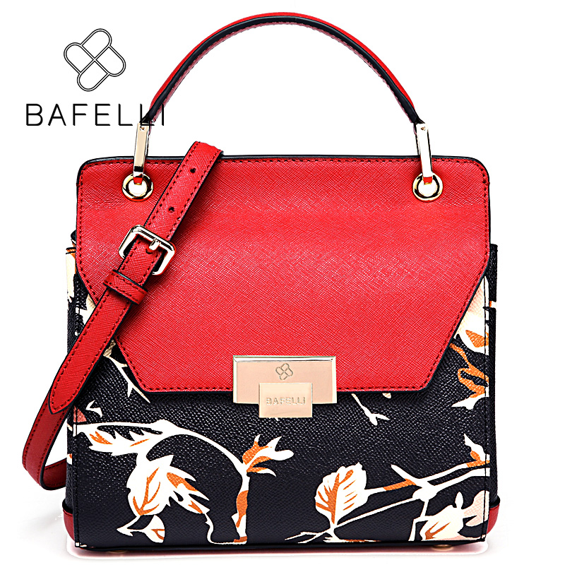 BAFELLI красный bafei li bafelli бамбук сумка ретро седло мешок плеча рука сумка черная ba1 8h0107