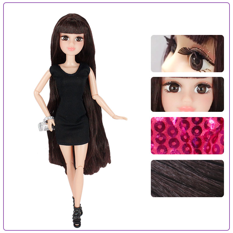 Abbie DIY Doll 12 inch fashion dolls blyth nude doll baby dolls for girls bonecos colecionaveis toys for children girls