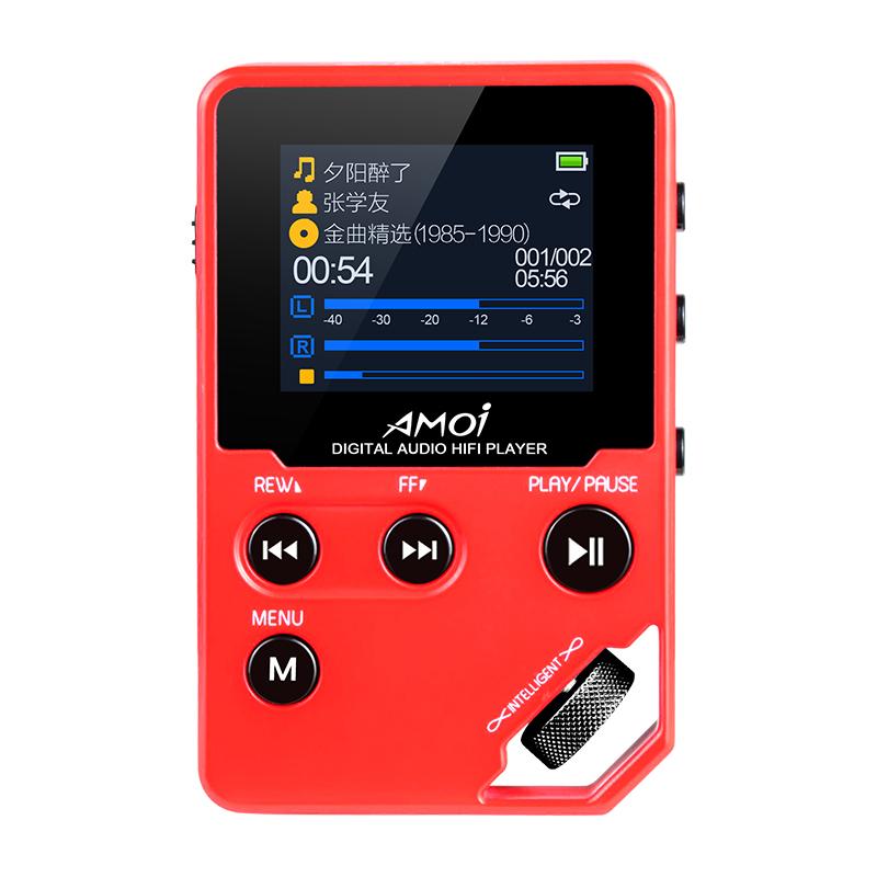 JD Коллекция С10 теплый красный 8G дефолт amoi amoi с10 mp3 музыкальный плеер без потерь качество звука hi fi аудиофилов hd плеер мини портативный walkman