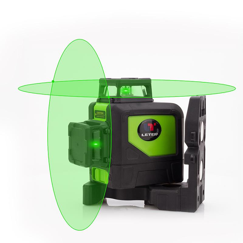 Leter LD водонепроницаемый IP5 лазерный уровень 8 линий зеленый