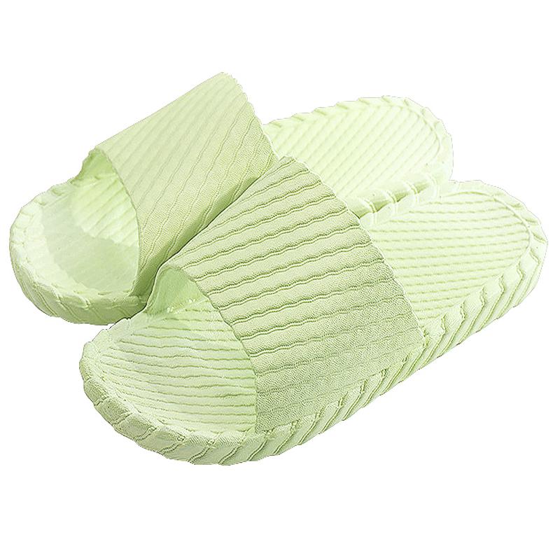 JD Коллекция зеленый 38-39 yuhua ze yuhuaze пара дома хлопок тапочки нескользящей дышащий белье тапочки деревянный пол тапочки женские модели 41 42 ярдов