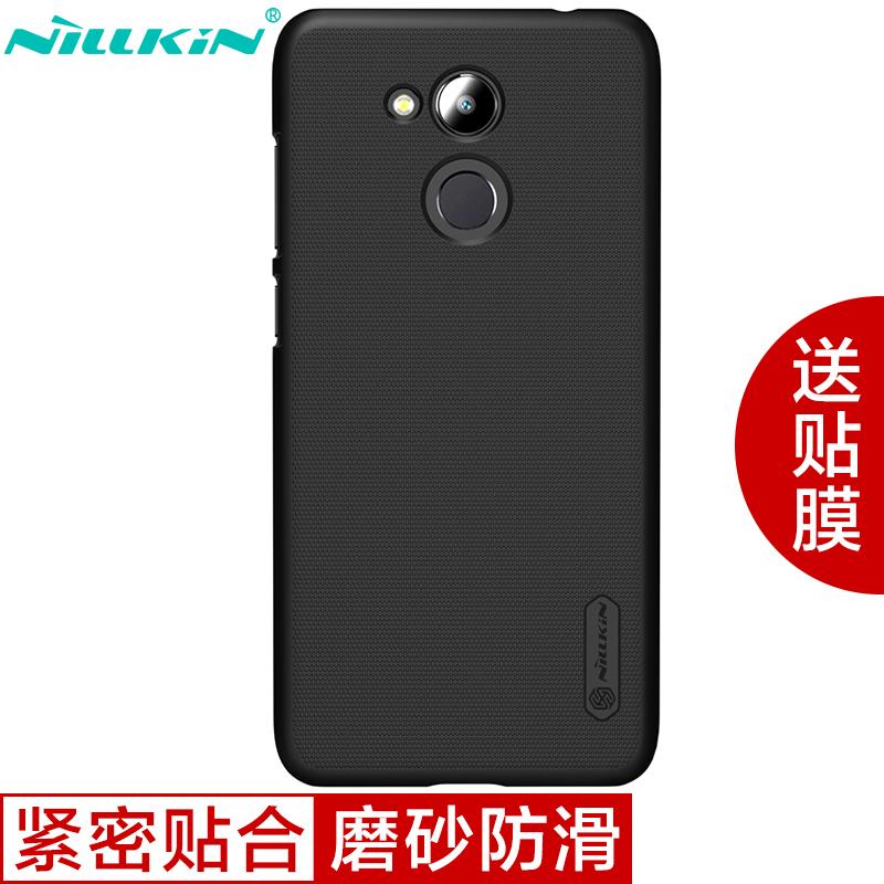 NILLKIN черный Huawei слава V9play нил gold nillkin m5 матовое проса телефон защитной оболочки защитный рукав рукав черный телефон