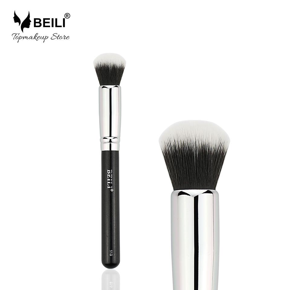 Single Synthetic Hair beili single 104 flat kabuki single synthetic hair face для умывальника румяна черная макияжная кисть