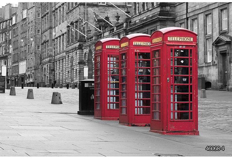 Colomac Red фото обои европейский стиль ретро пекарня выпечка обои досуг западный ресторан кофе фон обои роспись