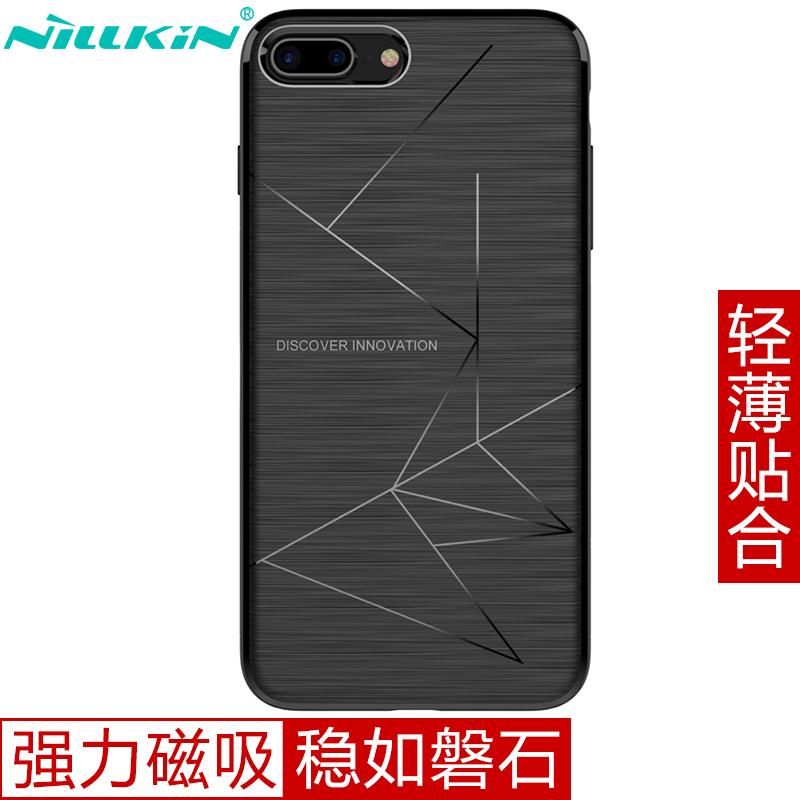 NILLKIN Черный iPhone 87 Plus сотовый телефон archos sense 55dc 503438