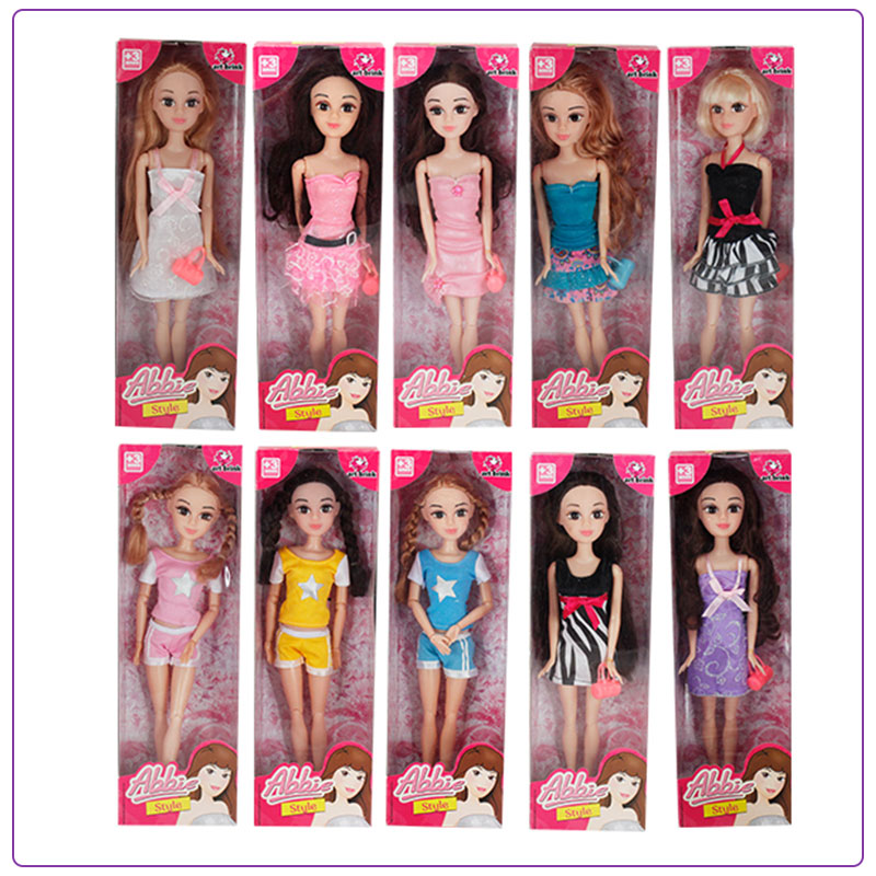 Abbie Fashion Single Doll-Random Delivery 12 inch fashion dolls blyth nude doll baby dolls for girls bonecos colecionaveis toys for children girls