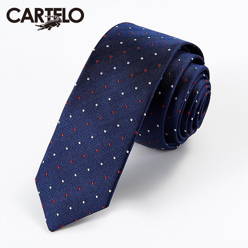 JD Коллекция Синие и белые точки флота По умолчанию галстуки