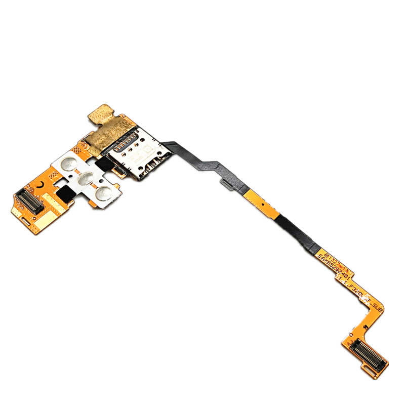 jskei replacement sd card slot holder flex cable ribbon for nintendo dsi golden silver