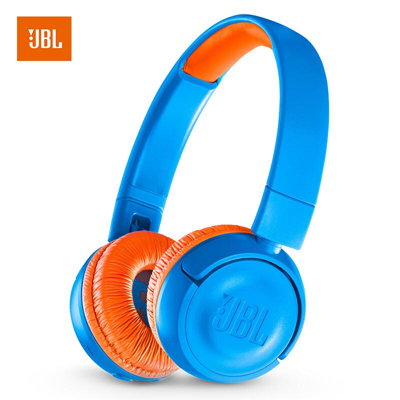 JD Коллекция синий версия JR300 Bluetooth jbl jr300bt обучения гарнитура беспроводная гарнитура bluetooth гарнитура гарнитура зеленый студентов с низким децибел