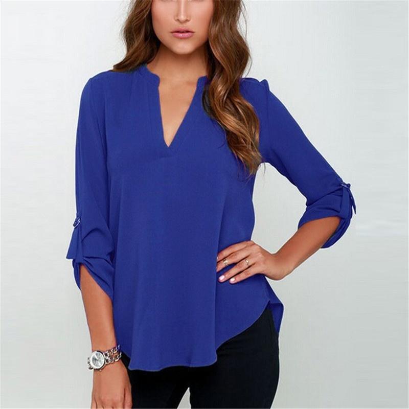 ZOGAA Синий цвет Номер L freestyle revolution new red blue women s size large l junior ikat print shorts