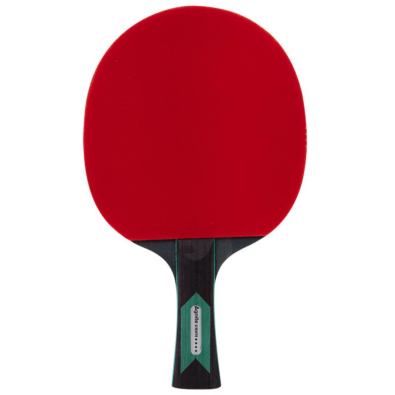 JD Коллекция хватка ножом 4 звездов дефолт ракетка для настольного тенниса torneo tour plustable tennis bat ti b3000