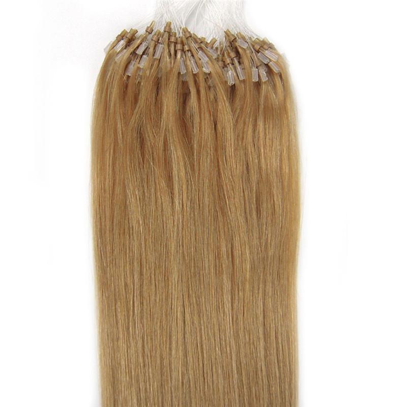 iwona 14 дюймов fashion hair queen 27 100s 0 5 g s 100% 50 g micro ring loop hair