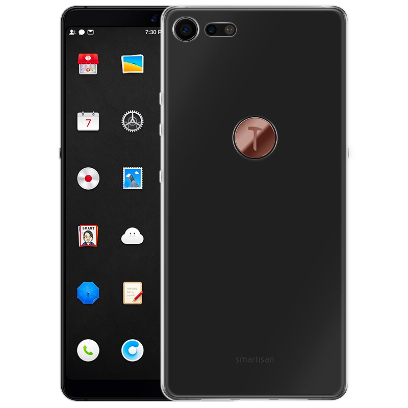 JD Коллекция Прозрачный Smartisan Nut Pro 2 телефон
