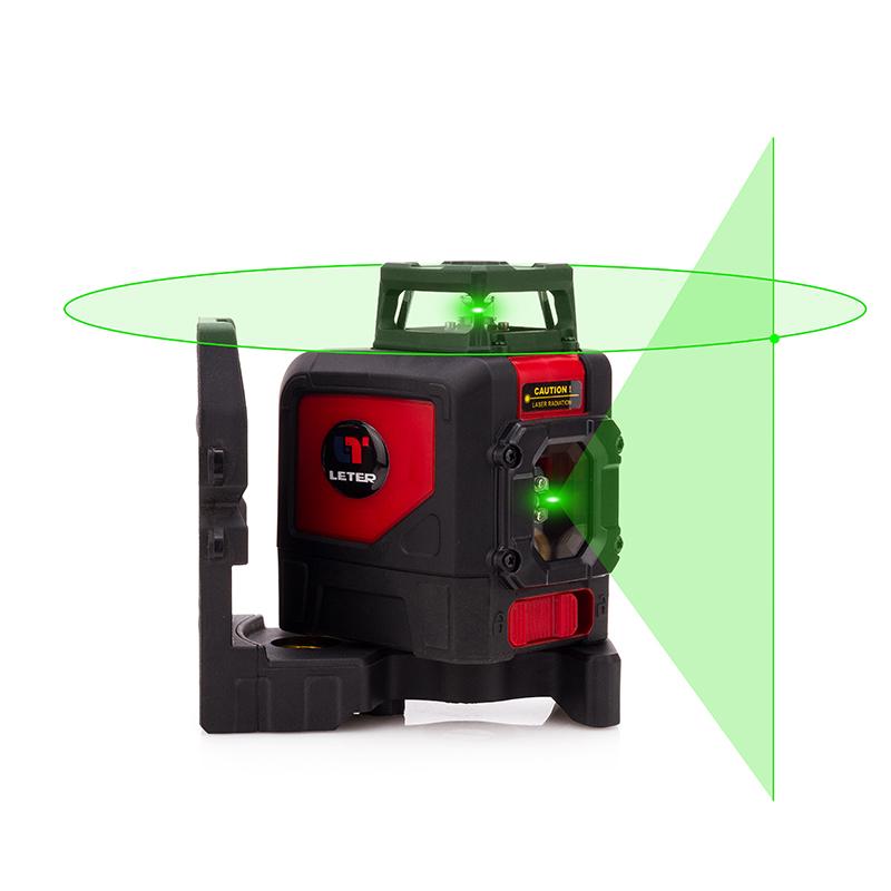 Leter Лазерный уровень Outdoor 5 Line Green 360 Degree Green Line