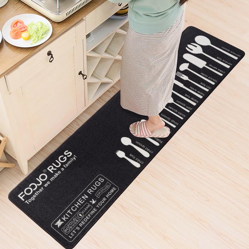 JD Коллекция Extended Edition 45 180см Посуда дефолт богатый рейтинг foojo кухня моющийся нескользящие коврики для вытирания ног 45 120см черный фон с синими цветами