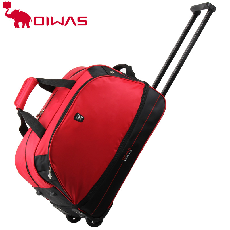 OIWAS Красный baibu high quality waterproof travel trolley backpack luggage bags wheeled carry ons bags large capacity trolley bags for laptop