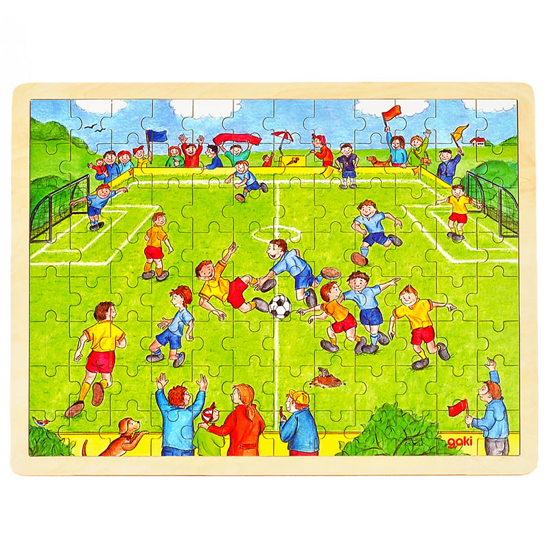 goki Puzzle football96pcs consumer satisfaction with wooden furniture