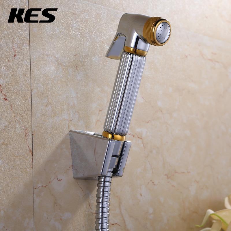 KES free shipping brass toilet hand held bidet spray shattaf hot