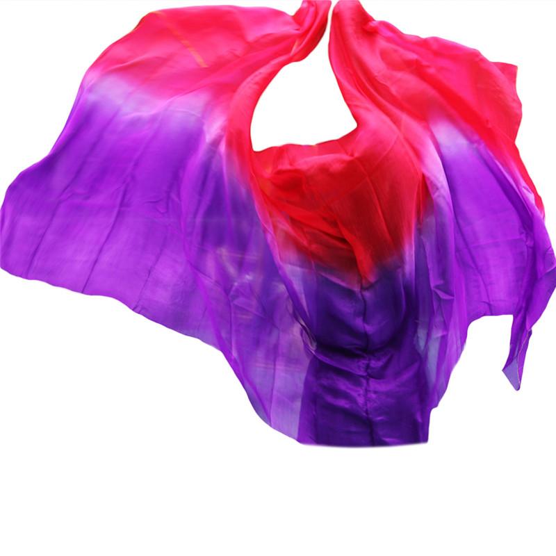 YI NA SHENG WU XXL шелковая вуаль для танец живота аутентичные шелковые вуали аксессуары для танцев живота королевский синий роза желтый красный