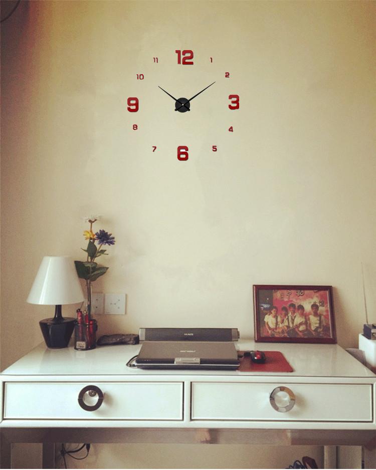 suwumu Красный цвет часы настенные magic home часы настенные петух