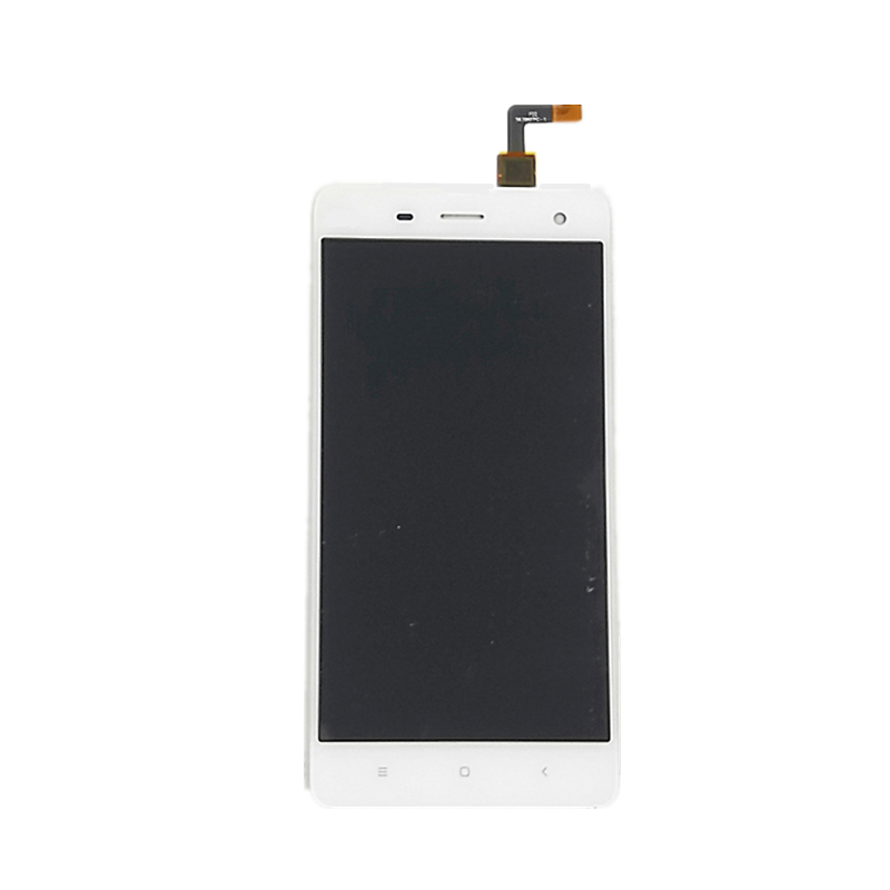 jskei Белый for xiaomi mi4 lcd display touch screen digitizer 100% new assembly mobile phone replacement parts with tools as gift